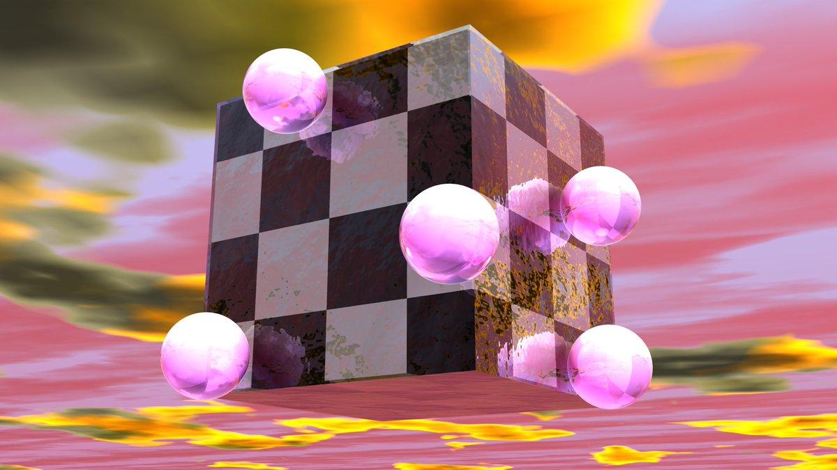 Cube More designs & prints over at http://zer0rei.com #vaporwave #vaporwaveaesthetics #vaporwaveart #bryce #90ies #3dart #3dmodeling #dailyart #aestheticpic.twitter.com/X5uPdQ8UIR