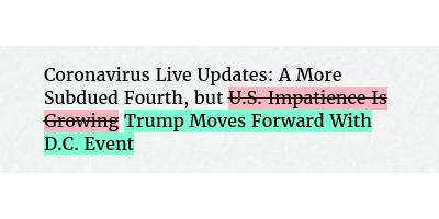 Change in Headline https://t.co/HVxDhp1vbH
