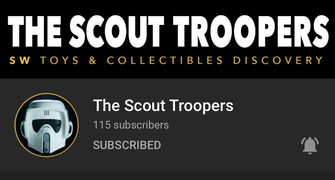 """🚨COMMUNITY SUB ALERT!🚨 Nu Blue Injekted! 💉 """"The Scout Troopers"""" >> youtube.com/c/thescouttroo… @scout_troopers Are Unpacking & Reviewing Star Wars Toys From The U.S., Europe, Japan & The World In Amazing High Quality Video! Join This Emperial Specialist Unit & SUBSCRIBE TODAY!"""