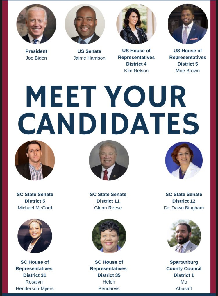 #Spartanburg Voters - Meet Your Candidates! Happy 4th!<br>http://pic.twitter.com/06X0WvPjYy