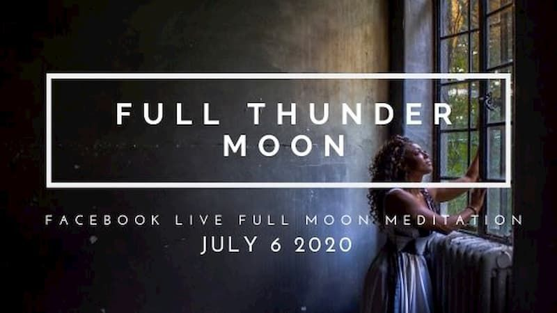With the thunderous changes that have erupted in our personal lives and our global reality over the last four months, it feels especially powerful to be celebrating the Thunder Moon together this month. Join me on Monday at 4:45pm EST--full details here! https://buff.ly/31R4nF0pic.twitter.com/kqGAgdsW3J