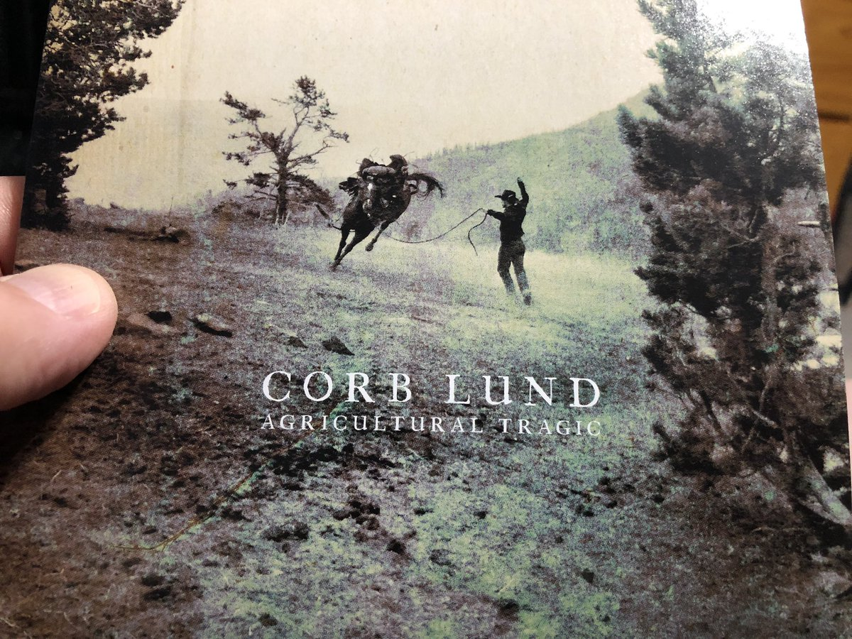 """#NowPlaying  #NewMusic  Corb Lund - """"Agricultural Tragic"""" (2020)  Brilliant new release from Albertan Country/Roots/Folk singer-songwriter, Corb Lund. Soooo good!<br>http://pic.twitter.com/ra9KOuey0g"""