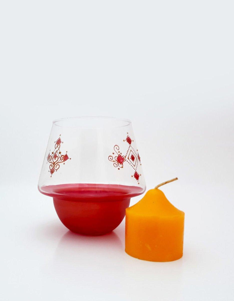 #handmade Photophore/Bougeoir en verre