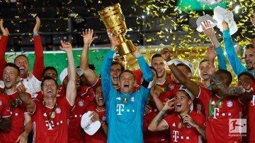 DPB-Pokal Result:  Leverkusen 2-4 Bayern Munich  Bayern Munich are the 2019/20 DPB-Pokal winners.  #SoccerNewspic.twitter.com/P2mtmi7qRI  by Soccer News