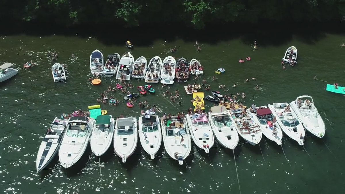 """""""We're young and healthy so it's OK."""" COVID-19 was not a concern for some Lake Minnetonka boaters this 4th of July. 