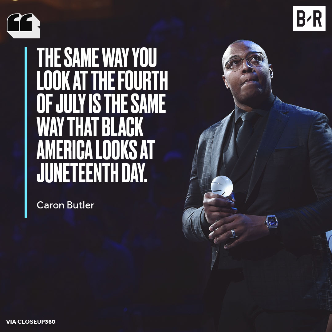 Caron Butler with a powerful message. https://t.co/LRuUssu7lb
