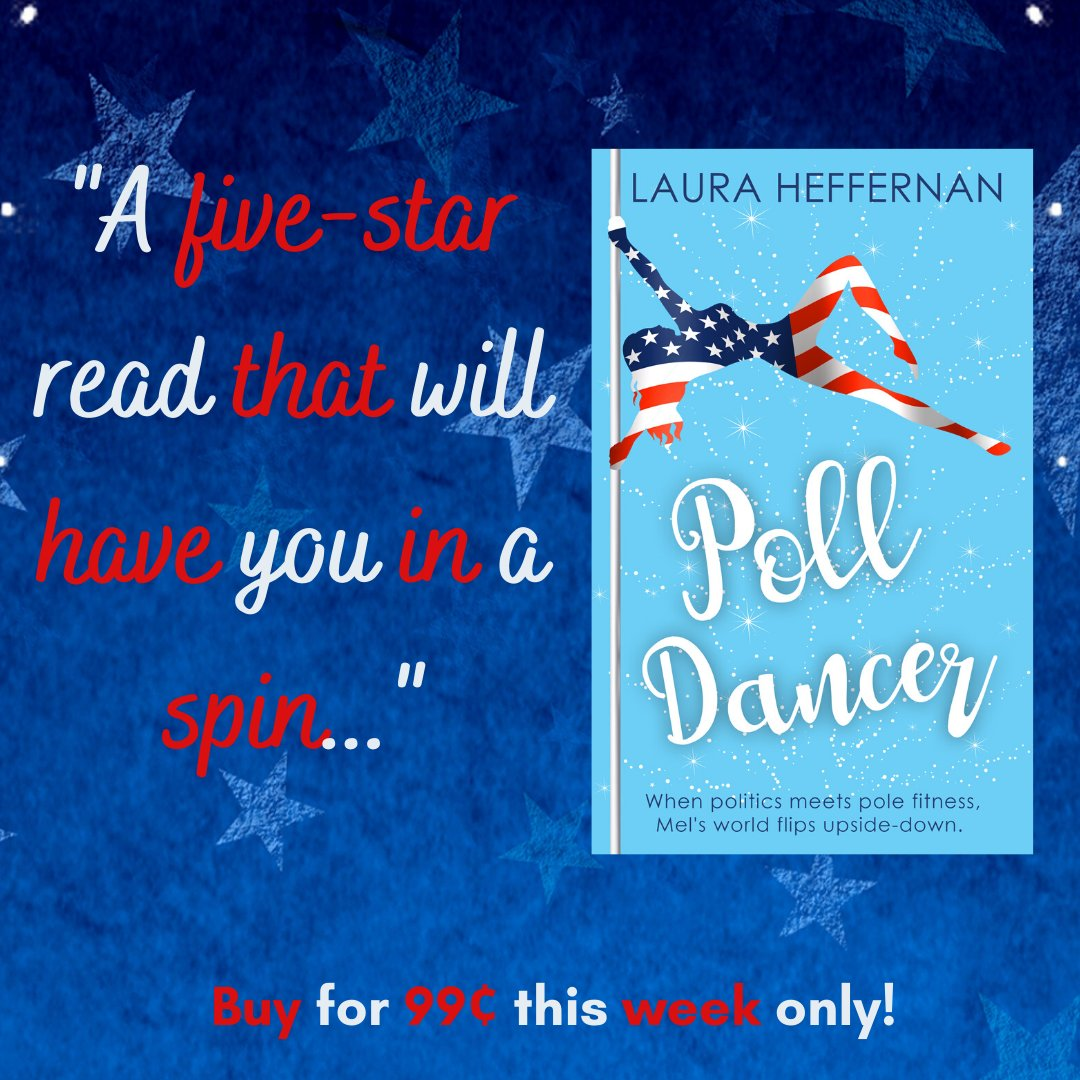 If you're looking for something fun and political to read for Fourth of July (or if you like punny titles) check out POLL DANCER. http://books2read.com/PollDancer  #IndepenceDay #PoliticalHumor #romcom #beachreadspic.twitter.com/cjoow9xFas
