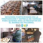 Image for the Tweet beginning: Seguimos entregando #viandas para quiénes
