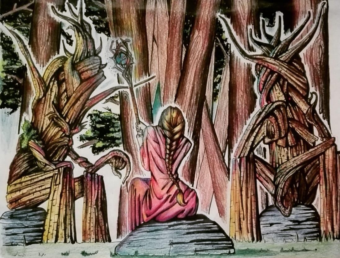 Hace mucho que no tocaba los lápices de colores. Estoy un poco oxidado jeje  #art #draw #arte #dibujo #ink #pencil #newstyle #estilo #drawing #practice #inking #artist #artistsoninstagram #fabercastell #anime #coloring #analogcolors #traditionaldrawing #paperpic.twitter.com/OINXg6zjKc