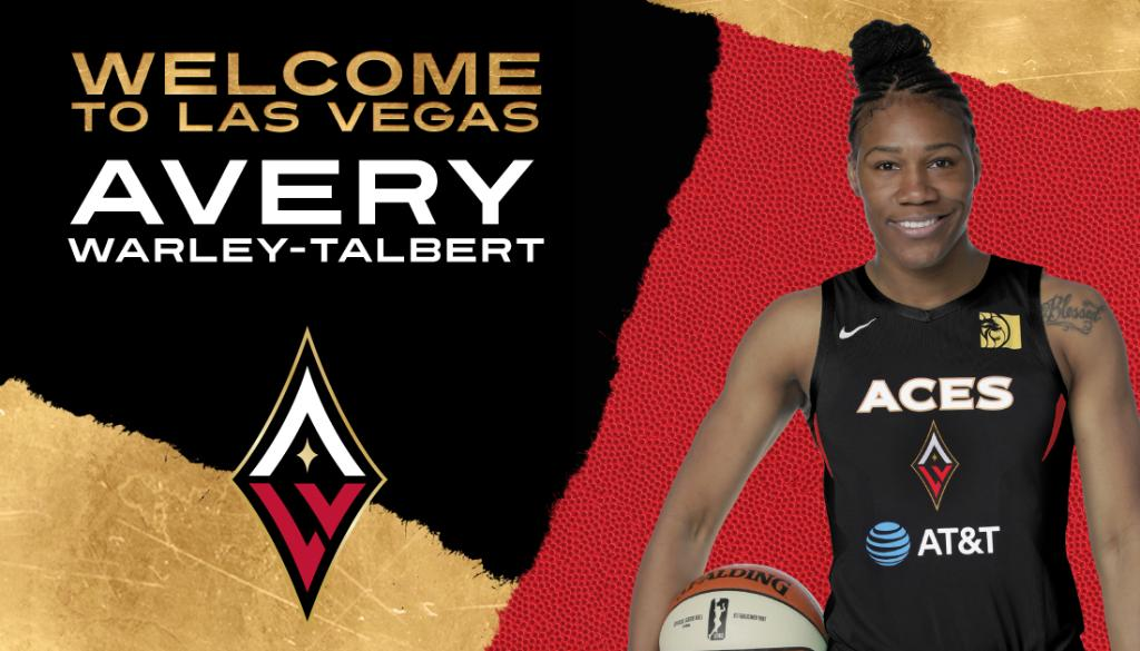 Official: We have signed Avery Warley-Talbert 🎰 Welcome to the Aces, Avery!! ♦️♠️  📰 https://t.co/4JVtqISNqa https://t.co/U3l1Hdert7