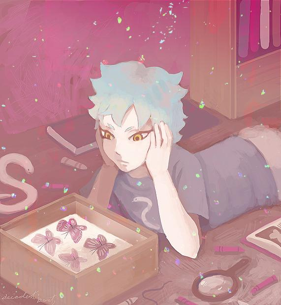 Boruto anime comes back tomorrow, so I drew a Mitsuki picture  next week I will draw one for Chouchou.pic.twitter.com/KqlmUJb3Qk  by 🔱MasterKage🔱マスター影