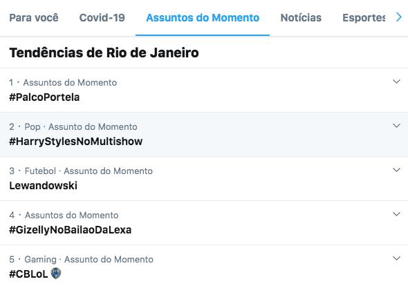 Vocês são demais mesmo, hein? Bora subir, Brasil? #PalcoPortela https://t.co/T795c3HJlK
