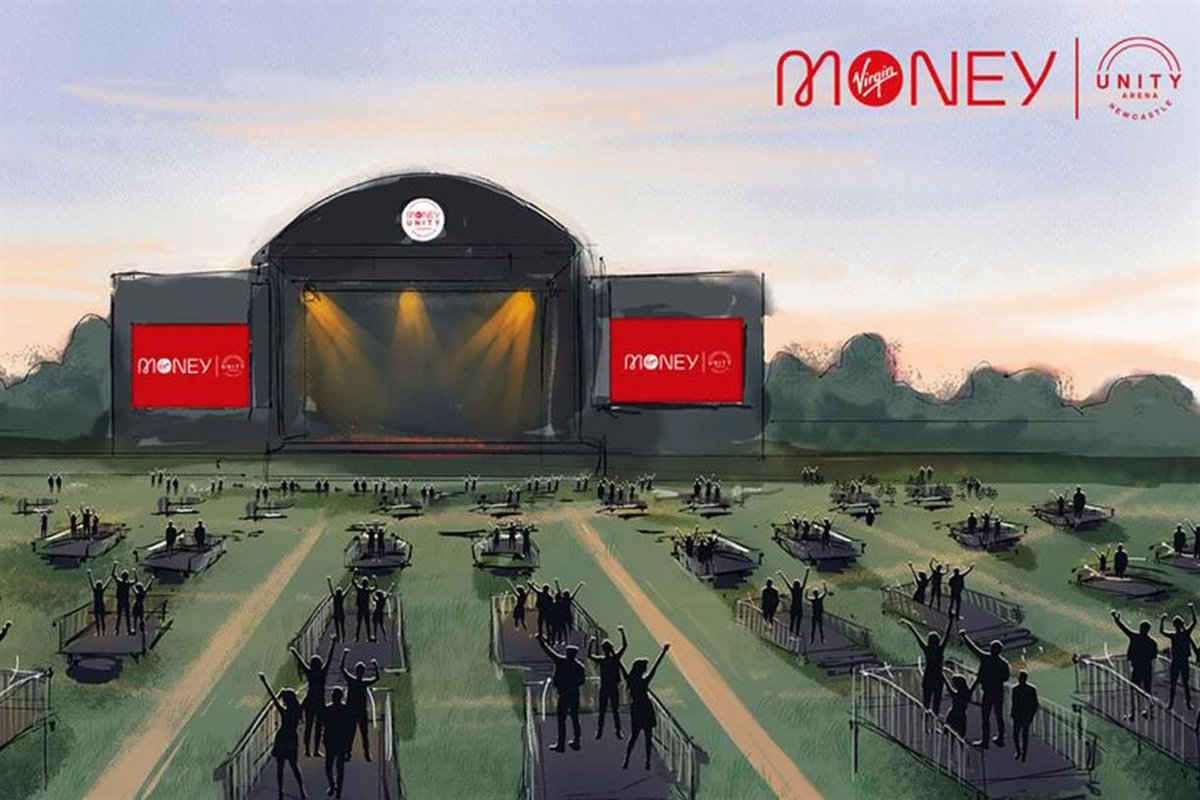Virgin Money has partnered SSD Concerts to create a socially distanced live music arena in Newcastle https://t.co/biyDrzREAP https://t.co/YZXhCVgb20
