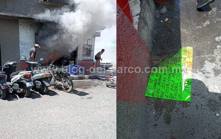 Sicarios cobardes del CJNG atacan y queman talleres de motos en Celaya; Guanajuato https://t.co/RcKfoE2XSP https://t.co/Buk0qBKkz3