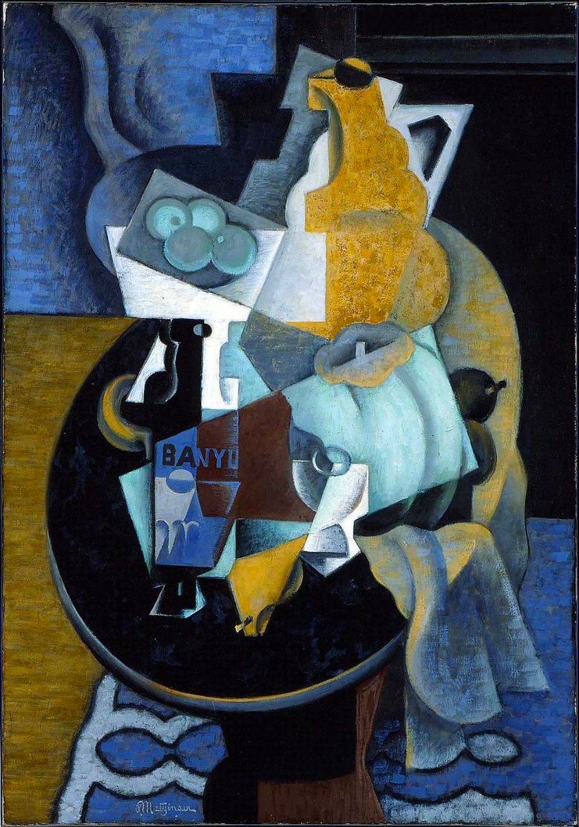 Fruit and a Jug on a Table, 1918 #frenchart #syntheticcubism <br>http://pic.twitter.com/lRtdwLSKds