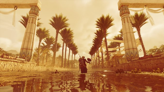 Memphis.   Game: #AssassinsCreedOrigins Developer: @UbisoftMTL Console: #XboxOne  Follow me for more awesome pics by myself. #VirtualPhotography #PhotoMode #TheCapturedCollective #VGPUnite #ThePhotoMode #vpgamers #Gametography #gamingphotography pic.twitter.com/1wwqDJ09uh