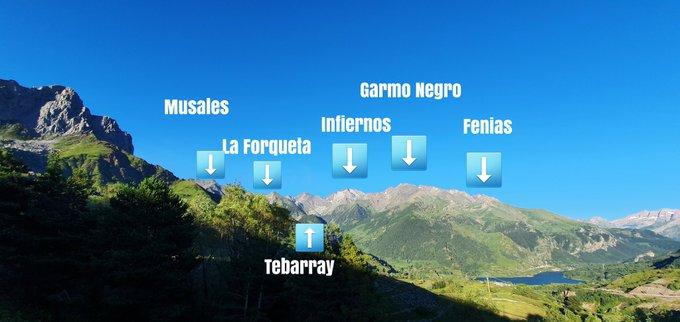 #valledetena desde #Formigal
