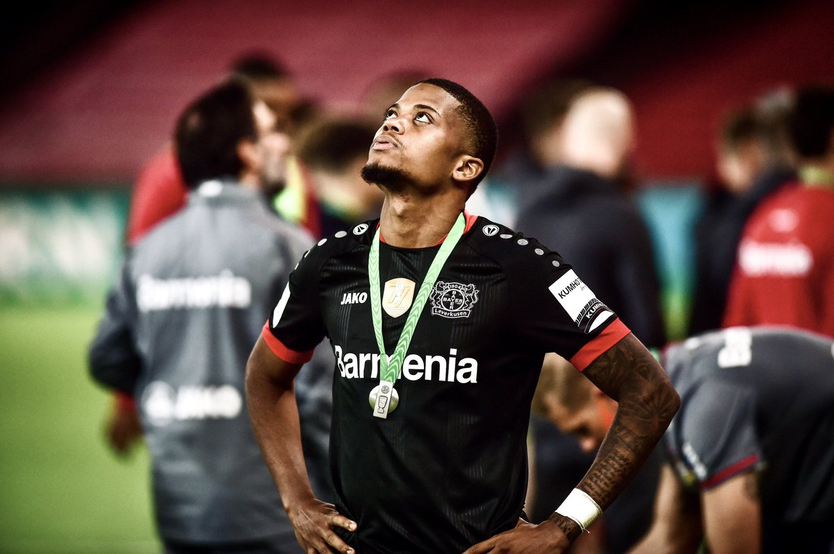 Disappointing result tonight, it's been a long season so we definitely still can be proud to have reach the finals, congrats to @fcbayern We keep our heads up and continue working. 👉🏽🦁👈🏽 @bayer04fussball https://t.co/lhyNHKIws4