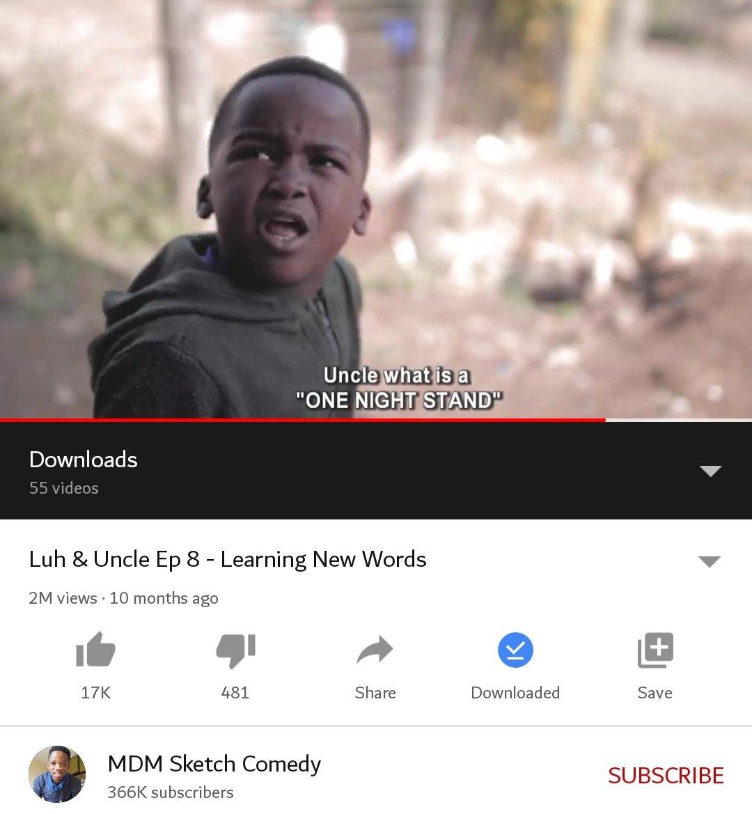 This kid is gaining legendary status 😂😂😂 Luh #LuhAndUncle https://t.co/Wip1DOsvUr