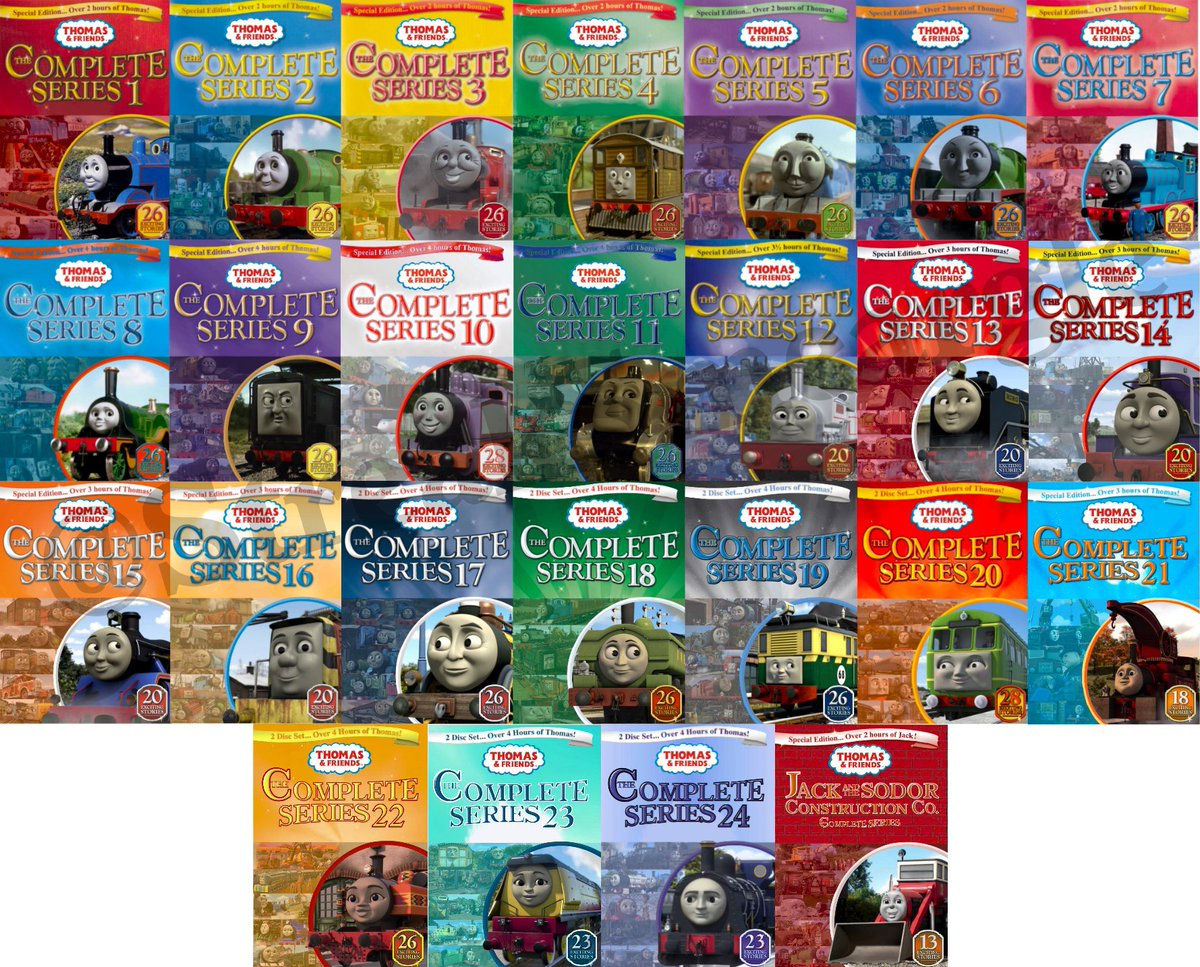 DVD Thomas /& Friends Reino Unido The Complete Series 5
