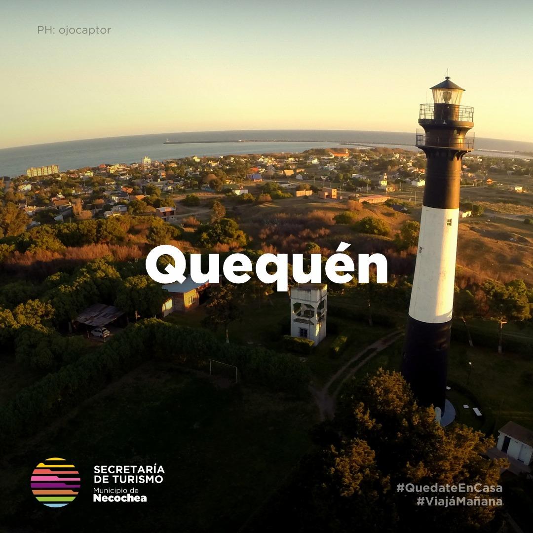 El maravilloso paisaje de Quequén, visto desde el aire.   #NecocheaTeEspera #Quequén 🌄 #Playas #VolverAViajar 🌊 #ViajaMañana  #LaMejorPlayaArgentina 🌅 https://t.co/MDo3DsTSDj