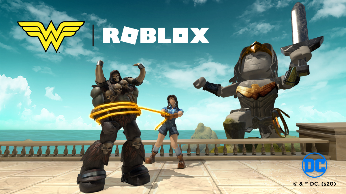 Themyscira is an island of mythical treasures...and legendary dangers 💥 Witness comic book quests come to life and earn items for your avatar in the @DCComics Wonder Woman Experience: roblox.com/dcwonderwoman @DCWonderWoman #WonderWomanXRoblox