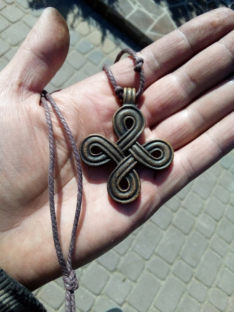 """Excited to share the latest addition to my #etsy shop: Viking Scandinavian Interlaced """"Knot"""" Cross Pendant (Infinity Cross) - Moose Horn / Hand Carved https://t.co/DyN30aG2jk #men #bonehorn #viking #age #artifact #vikingsart #vikings #odin #ravens https://t.co/ixT9EwbRAA"""