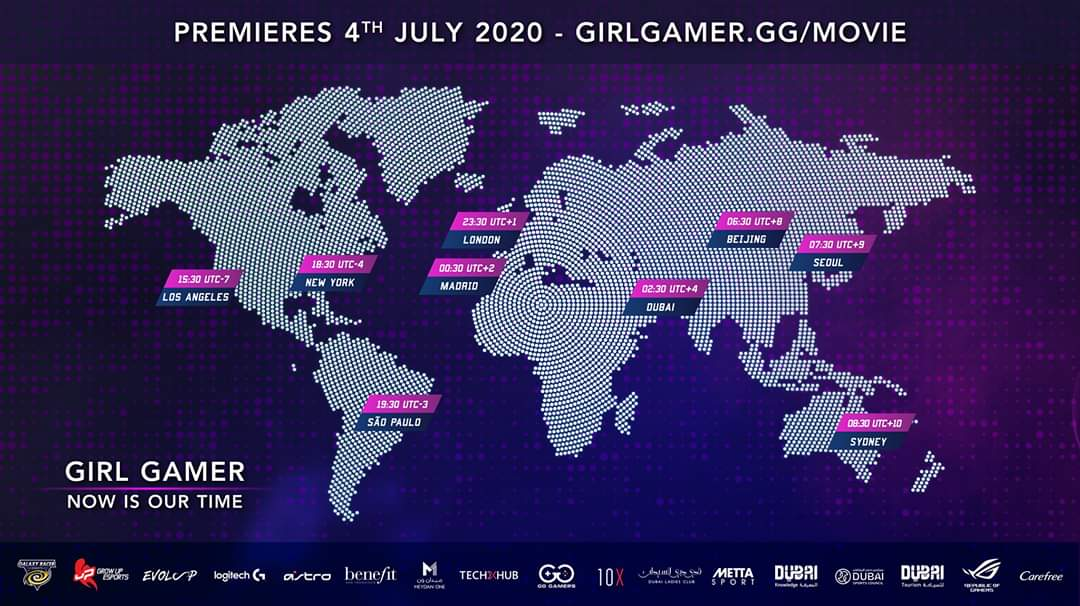 We are live! Don't miss the premiere of Level 3 of GIRL GAMERS - Now It's Our Time at our Twitch channel https://t.co/L2HXwgmeG8.  #girlgamer #girlgamerfestival #nowitsourtime #documentary #esports https://t.co/Jk8LARtpAq