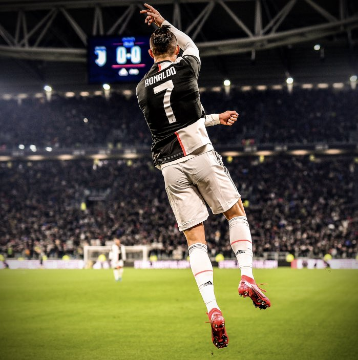 Cristiano Ronaldo since the return of Serie A: • 4 goals. • 3 assists. 🐐 is on 🔥