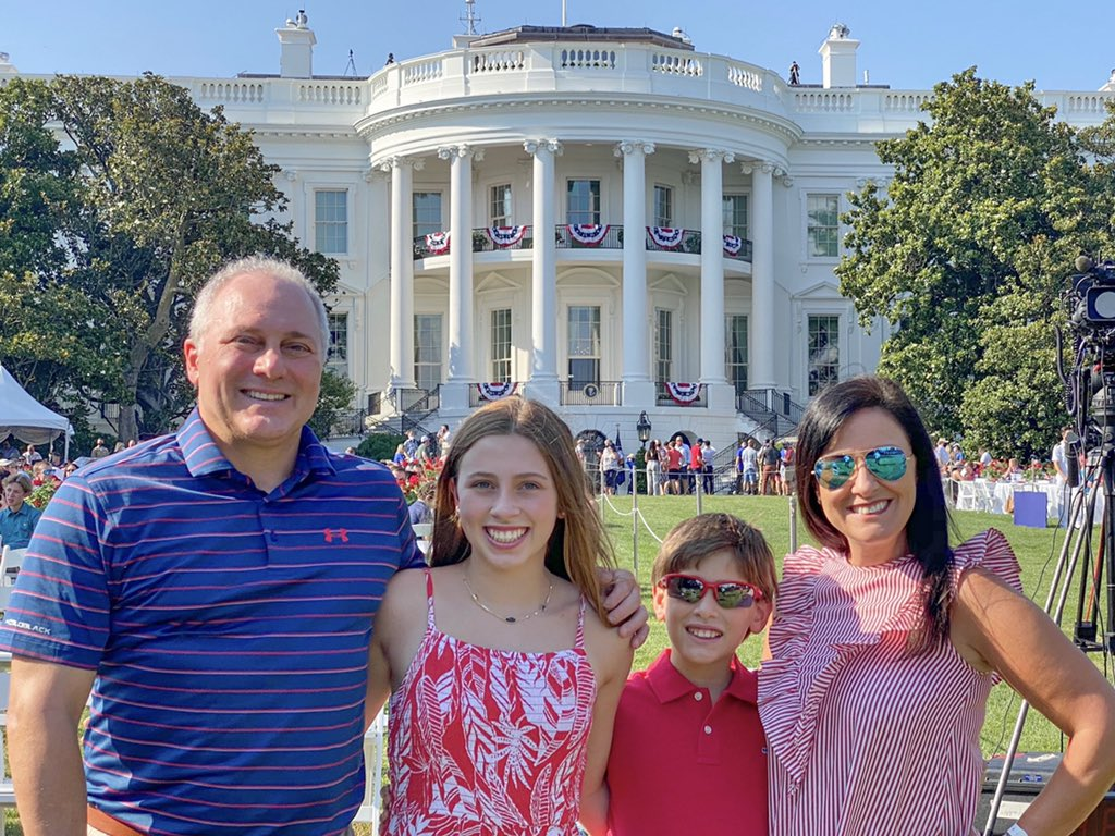 Proud to be celebrating the greatest country on earth at The White House with my family and @realDonaldTrump! Happy 4th of July! #Salute2America #ProudToBeAnAmerican 🇺🇸 https://t.co/9yxHpEYVuP
