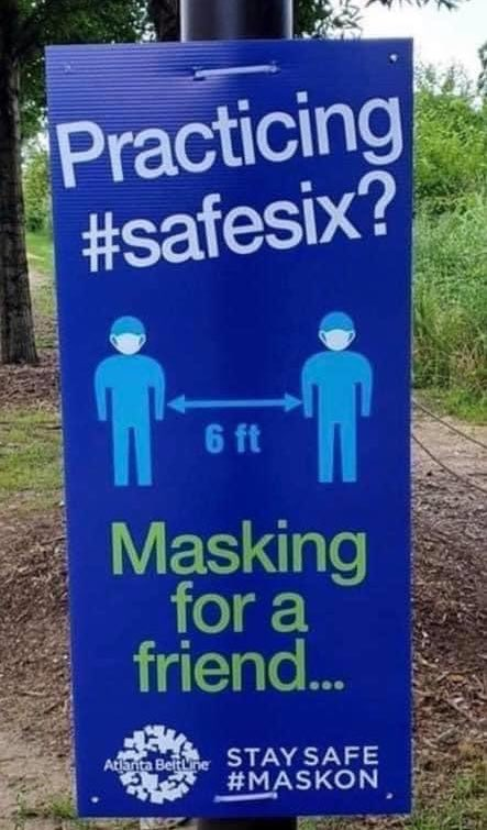 This is brilliant #sixfeet #MaskUp #Atlantapic.twitter.com/ava6leO59d