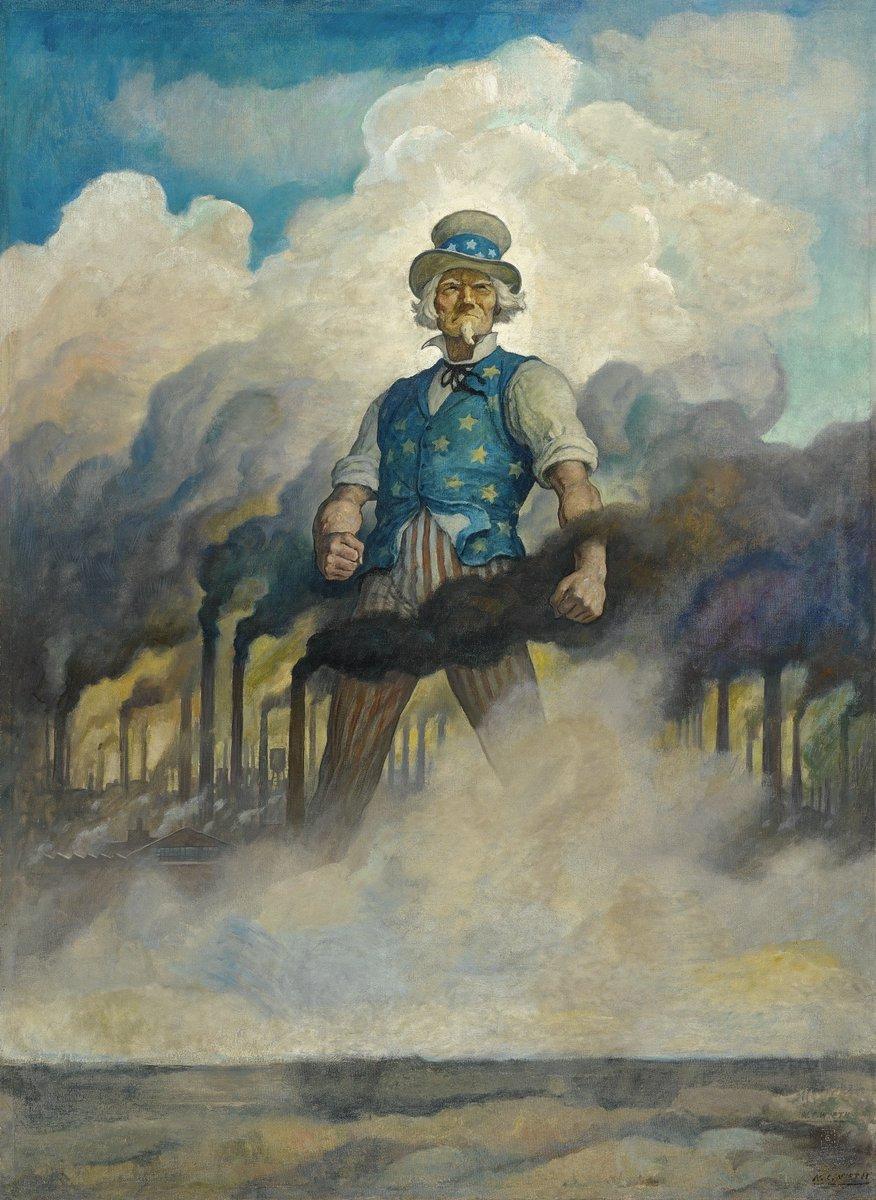 "Uncle Sam says, ""Wear a mask."" N.C.Wyeth https://t.co/gYJiORx9Er"