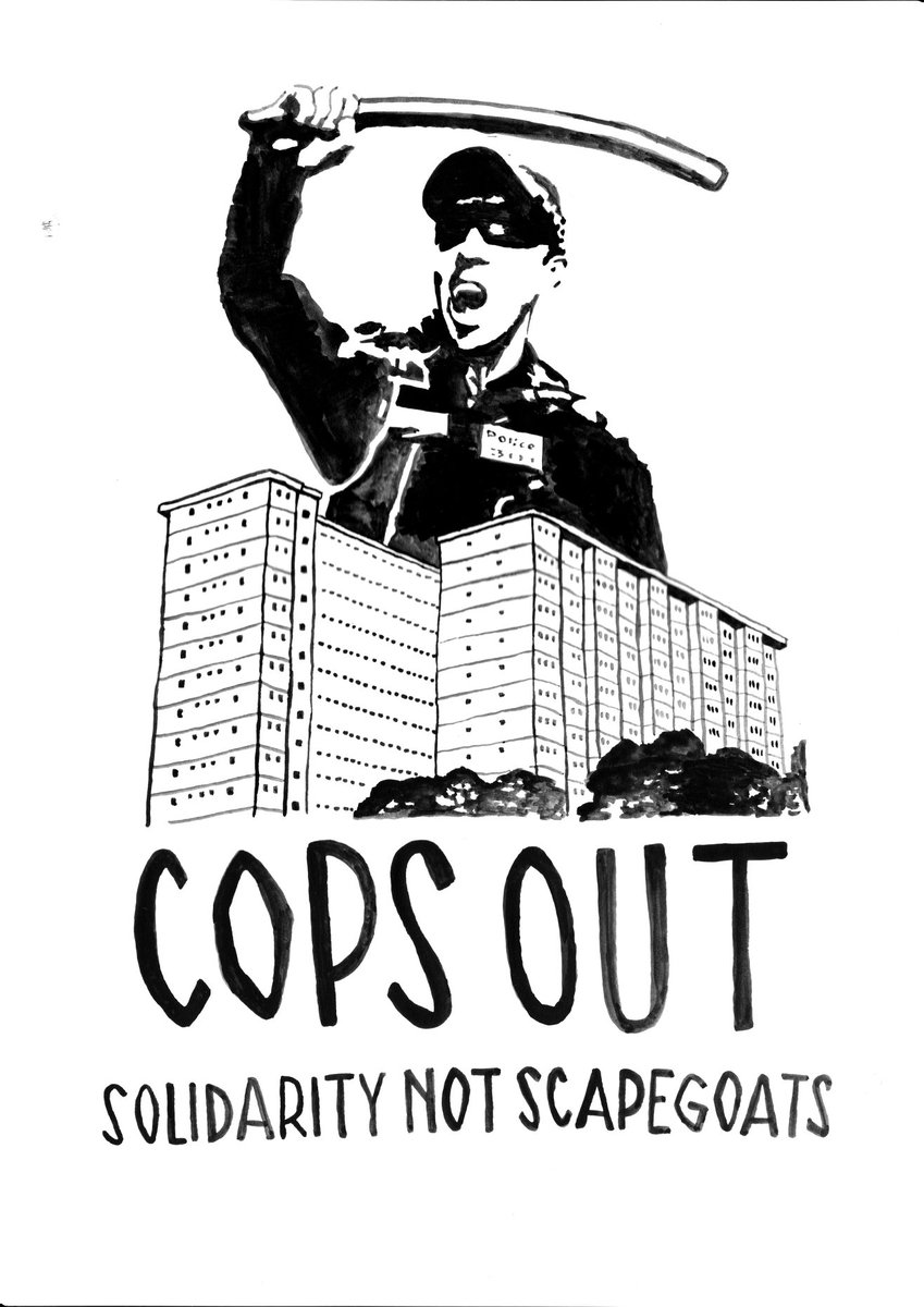 solidarity with flem/kens, nth melb public housing residents. #melbournelockdown #lockdowntoorak #acab https://t.co/QZ48tB4y0R