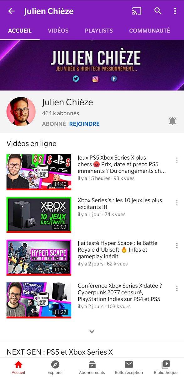@JulienChieze @xp_esport Merci pour ce super concours! 👍 La #XboxOneX collector #Cyberpunk2077 est trop belle!🤩😍 Bonne chance à tous et merci @JulienChieze pour tes vidéos, j'ai adoré la vidéo de MI de @Frederic_Molas et @Seb_du_Grenier avec @CaroleQuintaine!👍Biz Gollum!😉 ✅RT ✅Follow  ✅ Abonné ⤵️ https://t.co/xf0vyUiqPU