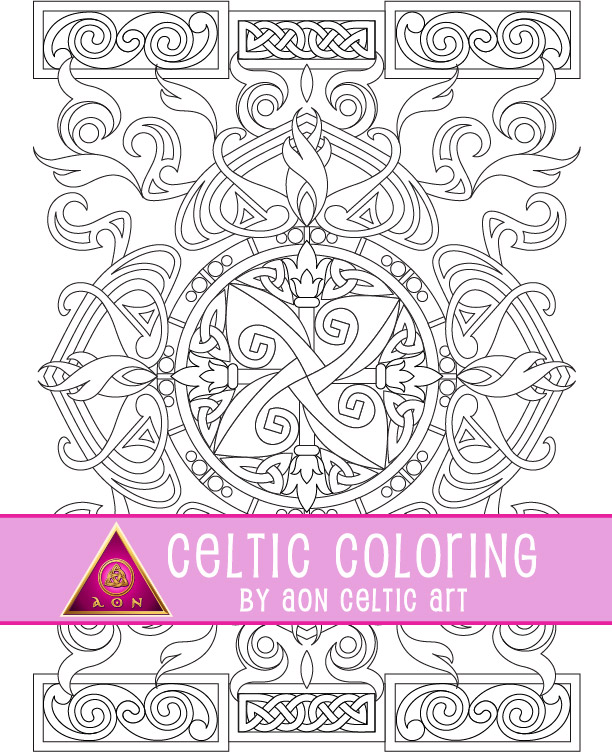 """15% SALE on summer themed CELTIC COLORING pages from my ETSY shop! Enjoy some """"me time"""" with these detailed coloring pages.  #celticart #celtic #creativity #coloring #aoncelticart #etsy https://t.co/adTTcYH8hj"""