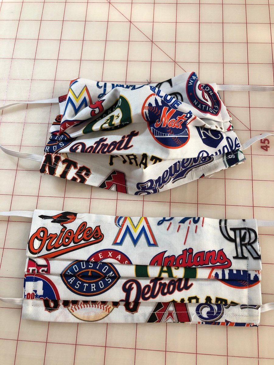Excited to share this item from my #etsy shop: #Mask with pocket for filter / 2 layers of fabric / Baseball themed https://t.co/b5ShAasFp4 #Californiacovid #TexasCovid19 https://t.co/dnGtGIU9kP