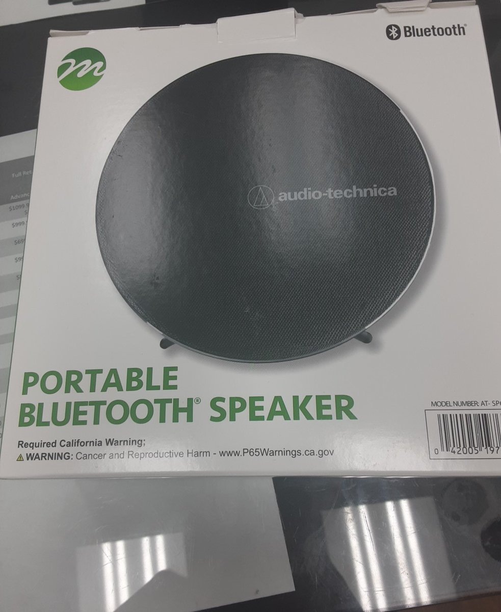 Portable bluetooth speaker $30 Cricket Wireless 685 Schillinger Rd S Ste 6 Mobile Alabama 36695 Monday-Saturday 10am-8pm and Sunday 12pm-6pm call us for more information 2512196146 <br>http://pic.twitter.com/dd39lxqZp2
