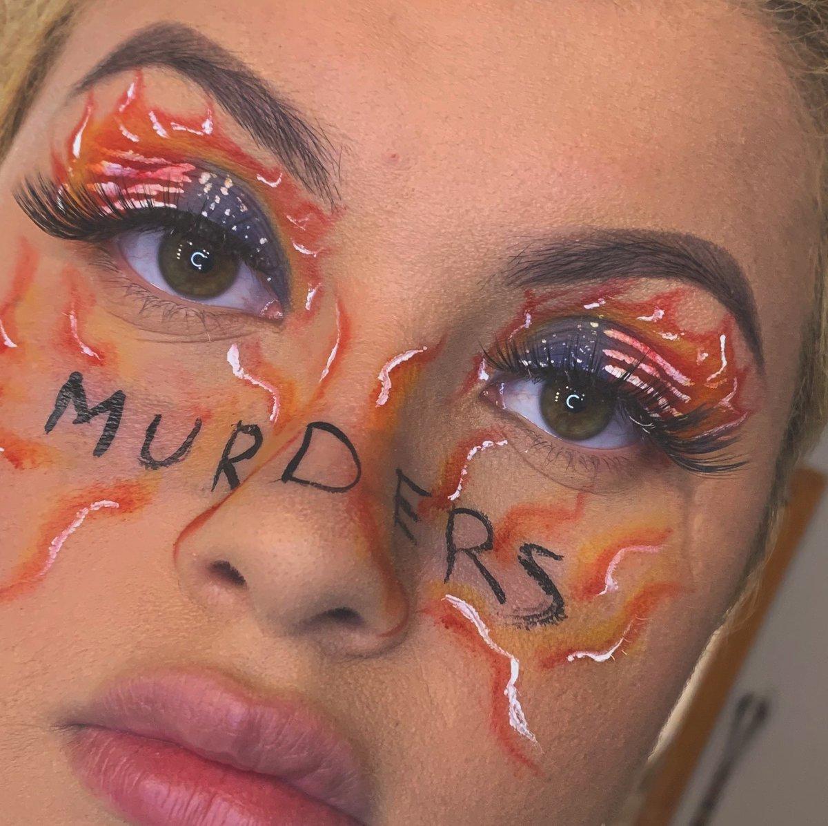 #morphebabe #unleashyourinnerartist #lashes #rainbowlook #anastiabeverlyhills #eyeshadow #beatface #makeup #undiscovermuas #explorepage #blend #muasfeaturing  #jamescharlespalette ##colorfuleyeshadow  #eyeshadow #abhcosmetics #anastiabeverlyhills #racist #murderspic.twitter.com/NbssAW2O9Y