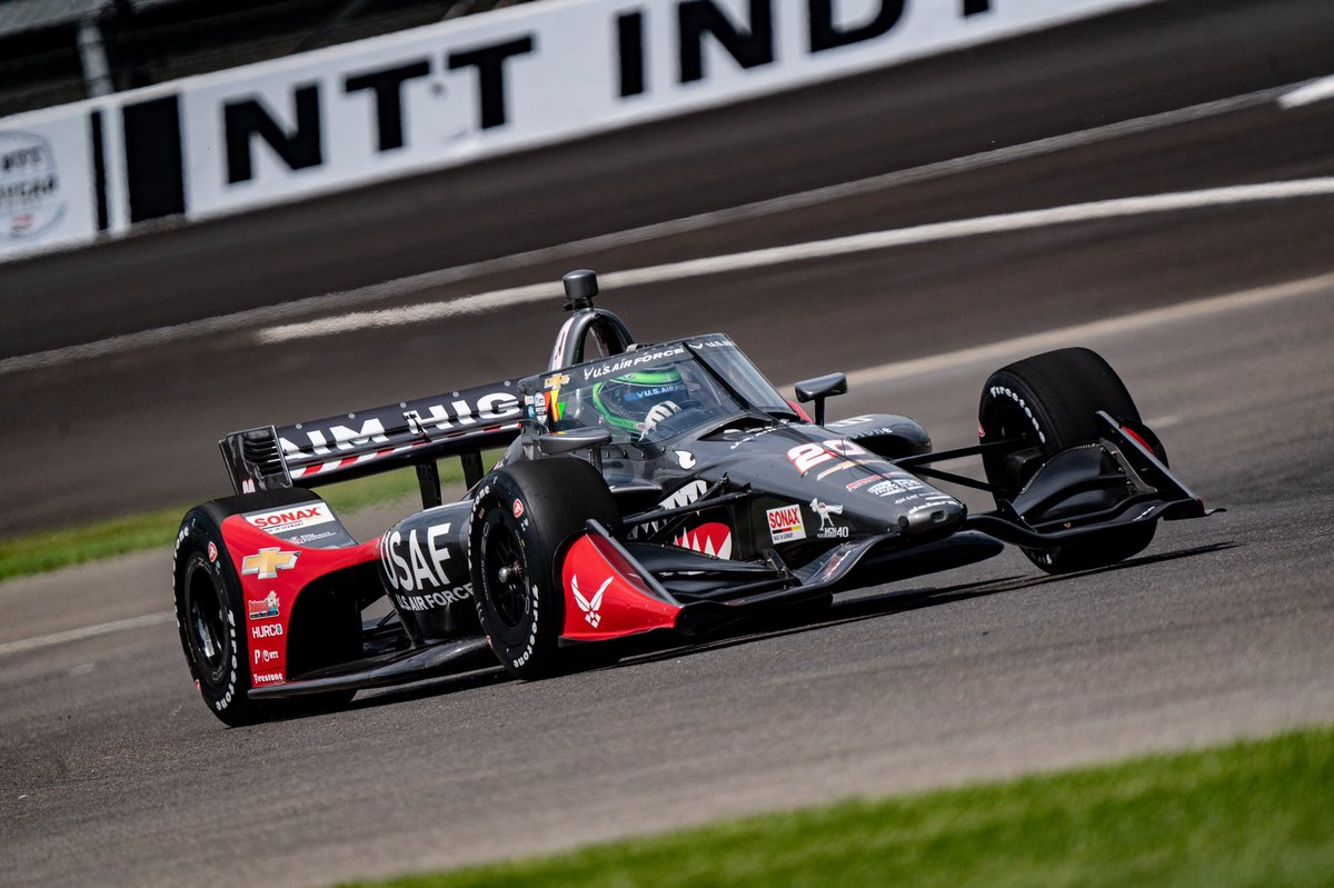 [Race Result] @conordaly22 - 12th CD completed today's #INDYGP on two pit stops, a strategy that had him as high as second in the first half of the race. Fuel saving in the second half proved difficult, but CD still managed a 12th place finish in his first race with ECR.