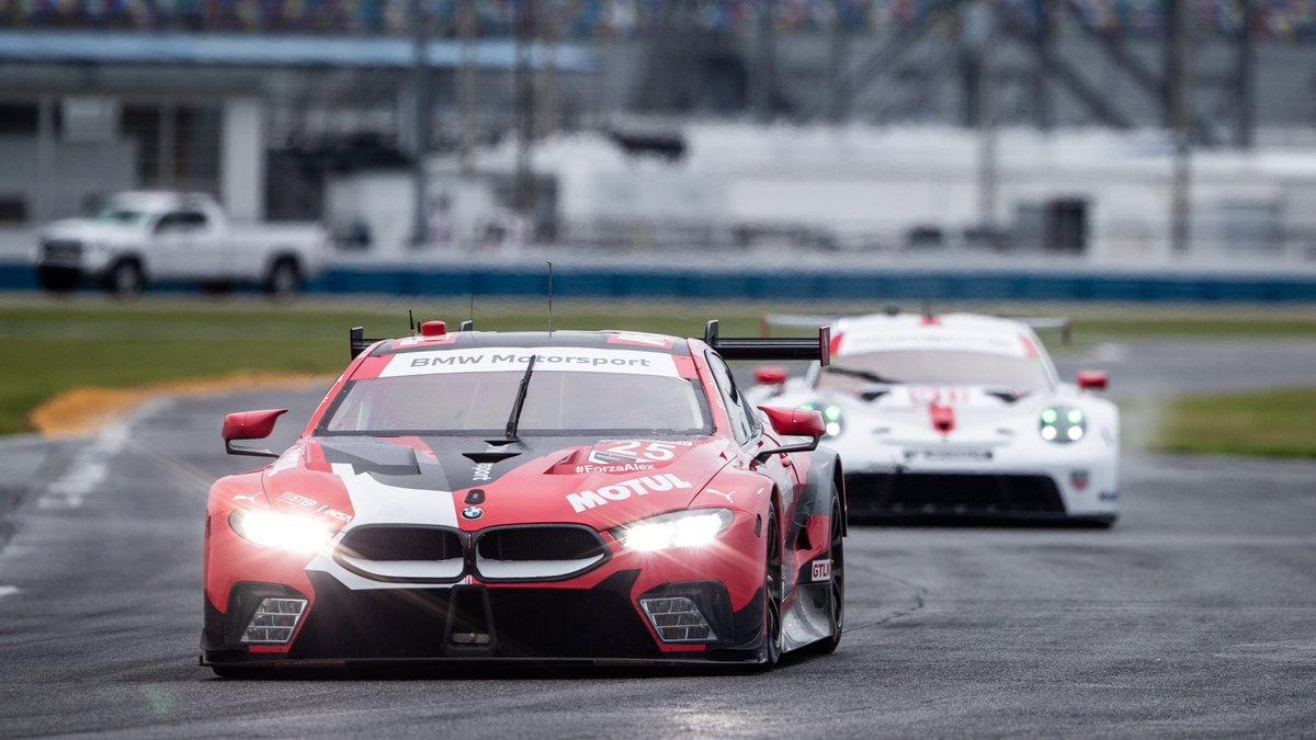 Leading the GTLM class after almost 40 minutes: @BrunoSpengler  in the #25 BMW M8 GTE.  #RACETHELIMIT https://t.co/FJm8pzbaCm