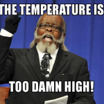 Image for the Tweet beginning: Just topped 80°F at the