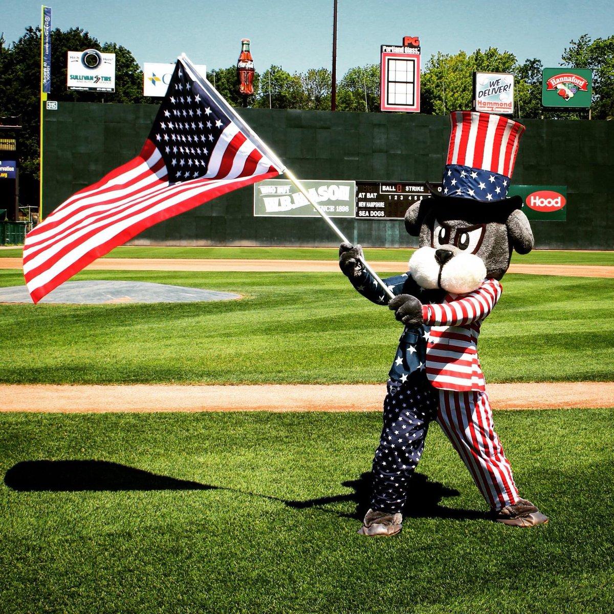 Happy Birthday, America! 🇺🇸🎇 #MiLBFunOnThe4th