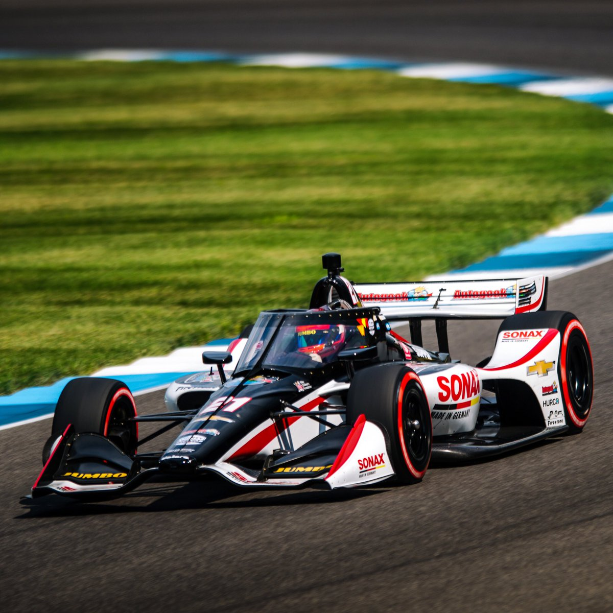 [Race Result] @rinusveekay - 5th RVK was the very first car to pit today, a strategy call that would enable him to drive through the field at today's #INDYGP. In only his second @indycar race, RVK earned his first career Top 5 finish.