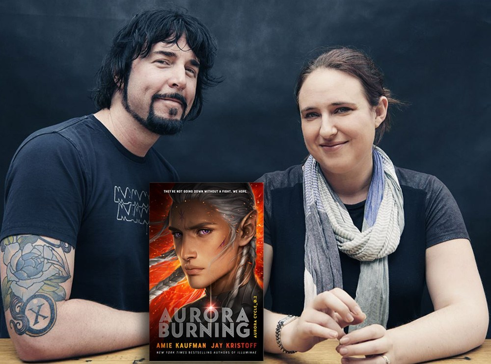 Q&A: Amie Kaufman & Jay Kristoff, Authors of 'Aurora Burning' - The Nerd Daily https://bit.ly/2NRN6Uepic.twitter.com/Ddk9CcZ07S  by Rúben Heitor