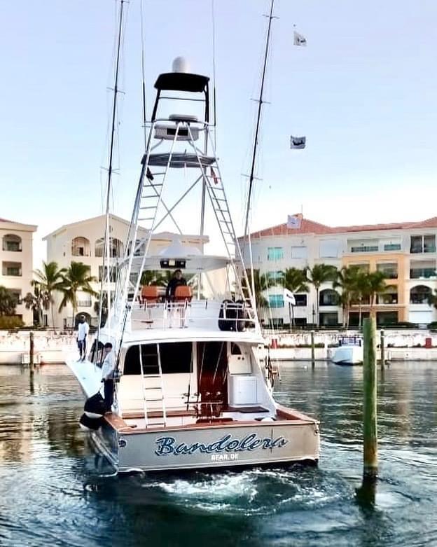 Cap Cana, DR - Bandolera went 4-4 on Blue Marlin.