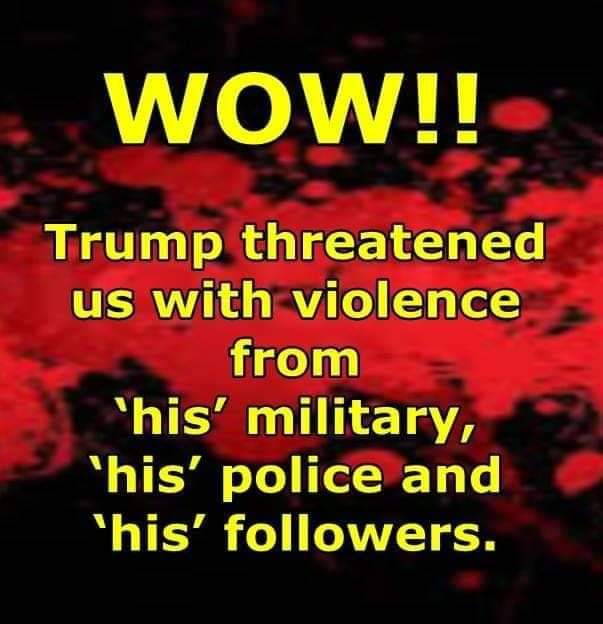 """Trump is at it again  kije last night-A fake 4th  of  July  celebration  thats actually  a hate  driven  CAMPAIGN  Rally at our expense-Anyone that doesn't  vote for him is a TRAITOR  or  Terrorist  #VoteTrumpOut2020  then  #LockTrumpUp  #NoPresidentialPardonForTrump  """"PRISON """" https://t.co/BQLfLrAwfi"""