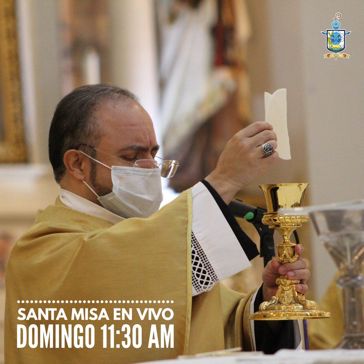 #SantaMisa #EnVivo a través de #Facebook #YouTube de @DiocesisMat   #QuédateEnCasa #Dios #Tamaulipas #FelizDomingo https://t.co/oSJIXfIYWQ