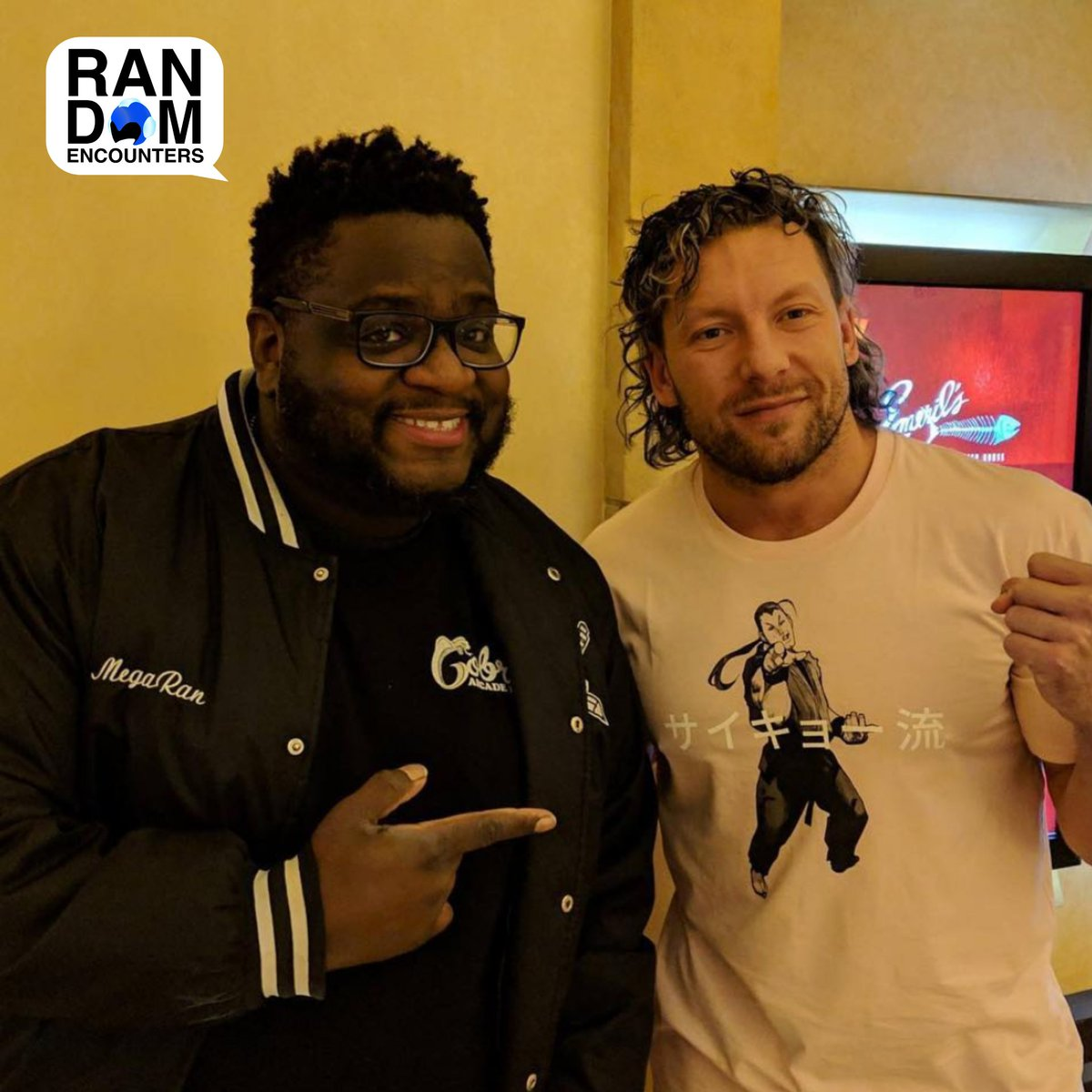 Pow. Check out Part 2 of my chat with @KennyOmegamanX! Get it at your favorite podcast destination now. anchor.fm/megaran