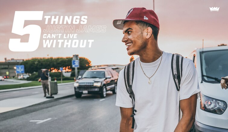1️⃣ 🏀  2️⃣ 🍽 3️⃣ ?  5 Things @1JustinJames Can't Live Without » https://t.co/DWS4JpiZDC https://t.co/AsZwQuCRwS
