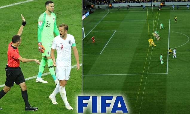 FIFA planning the use of ROBOT assistant referees at 2022 World Cup #robot #robotics  https://www.dailymail.co.uk/sport/football/article-8486311/FIFA-planning-introduction-ROBOT-referees-offside-decisions-2022-World-Cup.html?__twitter_impression=true …pic.twitter.com/TRMqDqltkZ